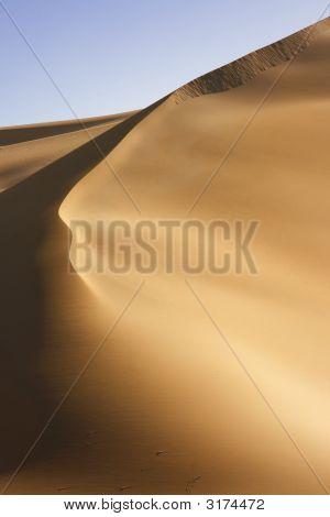 Curved Desert Dune