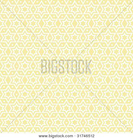Beautiful background of seamless stars and dots pattern