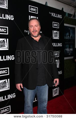 LOS ANGELES - MAR 26:  Brent Sexton arrives at  the AMC's