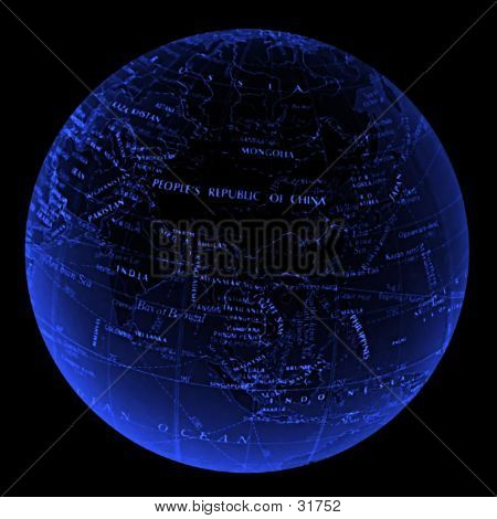 Globe - Asia