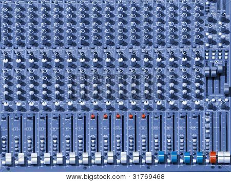 Audio-Mischpult-Konsole