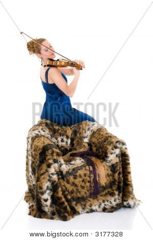 Attractive Violinist