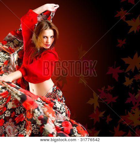 bailarina gitana
