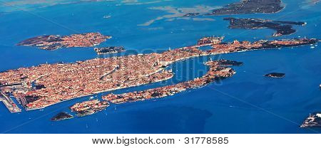 venice by air