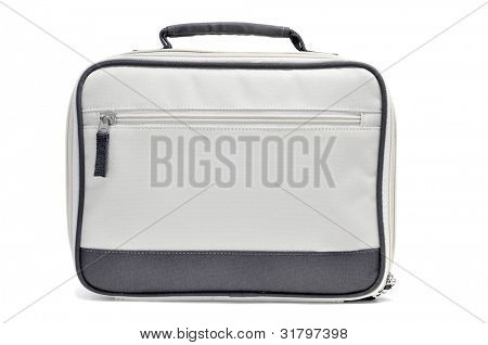 a laptop bag on a white background