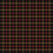 Tartan Plaid. Scottish Pattern In Black, Yellow And White Cage. Scottish Cage. Traditional Scottish  poster