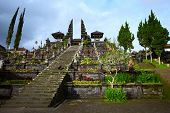 Main entrance to Balinese temple Pura Besakih. Bali Indonesia