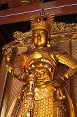 picture of pacific rim  - Skanda bodhisattva statue in Tian Wang Dian  - JPG