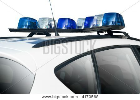 Police or Security Car