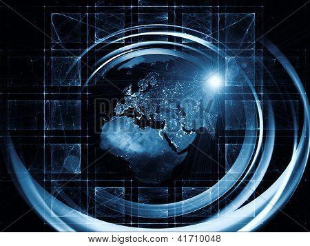 Virtual Global Trails