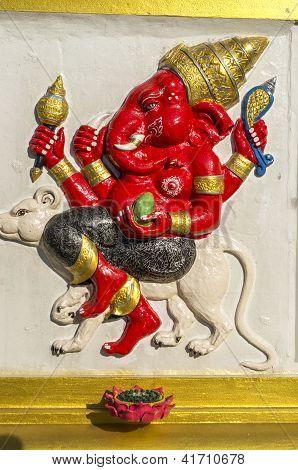 Sculpture Of Diety Ganesh
