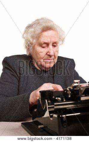 Old Typist