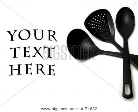 Black Cooking Utensils