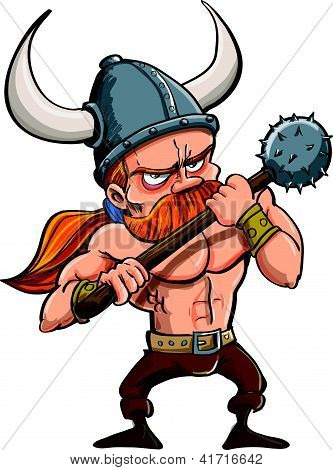 Cartoon-viking