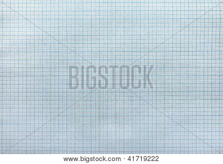 Seamless Blue Graph Paper Pattern