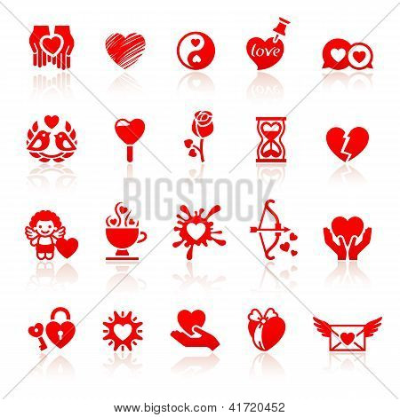 81_set Valentine's Day Red Icons, Love Romantic Symbols.jpg