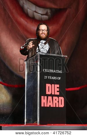 LOS ANGELES - JAN 31:  John Moore at the 'A Good Day to Die Hard
