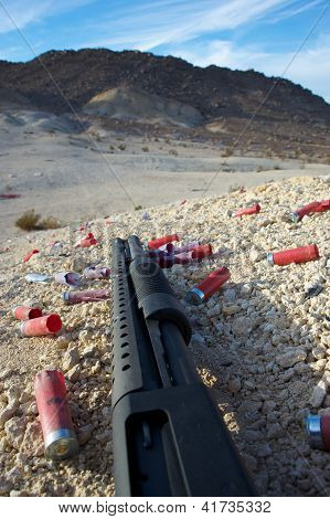 desert shotgun ground