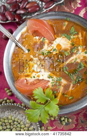 Indian food, Ma ki dal, Dal Makhani.