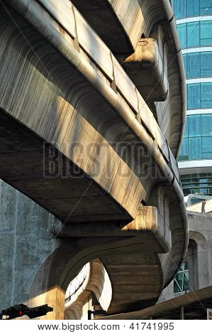 Arquitectura de Bts Skytrain de Bangkok, Tailandia