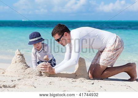 Tiempo de castillos de arena!