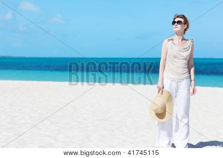 Beautiful Beach At The Beach