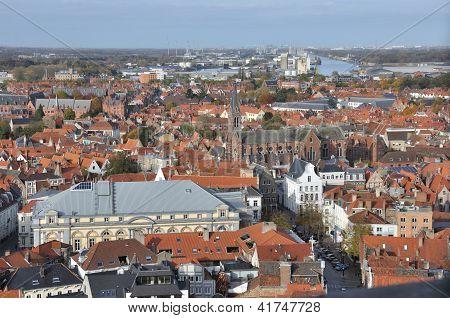 Brugge - Birds Eye View