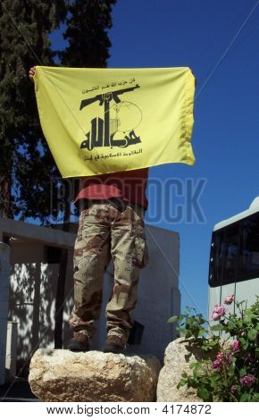 Hezbollah Supporter In Lebanon