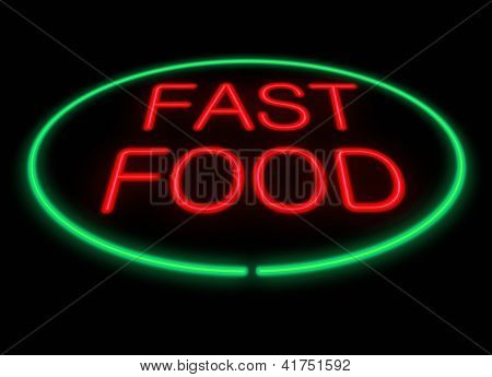 Fast Food Concept.