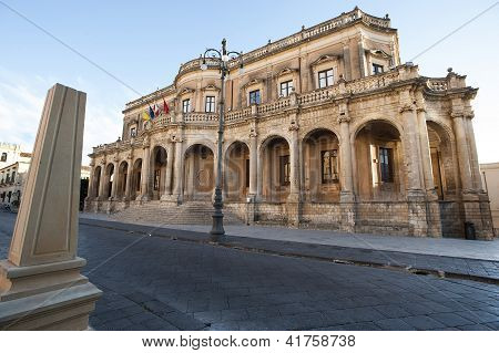 europe, italy, sicily, noto municipality