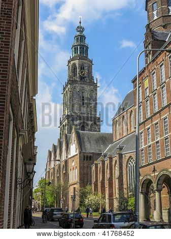 Groningen With Martinitower
