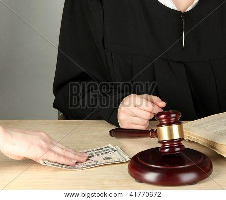 Corruption in court
