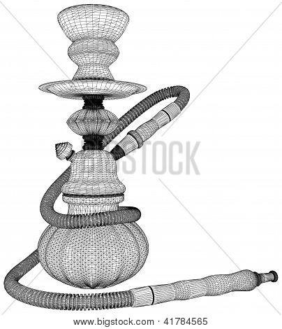 Hookah Nargile Kalyan Vector