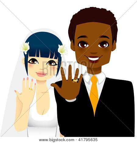 Newlywed Couple Rings