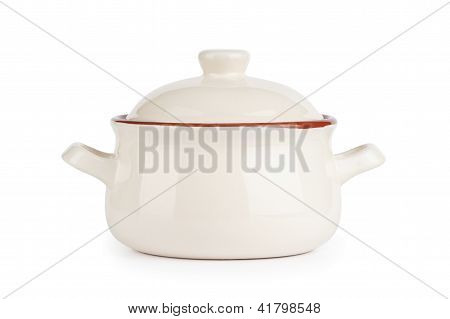 Ceramic Pot. Soup Tureen