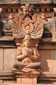 image of krishna  - at krishna temple humpi a world heritage monument - JPG