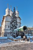 foto of cannon  - he Tsar Cannon is a large 5 - JPG