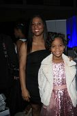 LOS ANGELES - FEB 1: Qulyndreia Wallis, Quvenzhane Wallis in the Bellafortuna Entertainment gifting