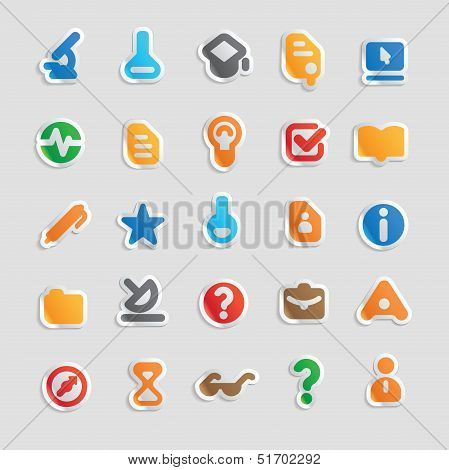 Sticker Icons For Science