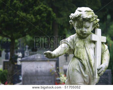 Stone Statue Child