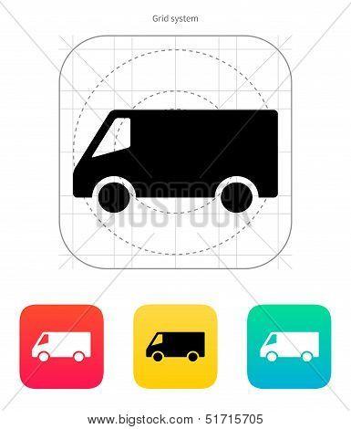 Minibus icon.