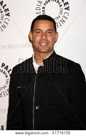 LOS ANGELES - SEP 30:  Jon Huertas at the An Evening with Castle at Paley Center for Media on September 30, 2013 in Beverly Hills, CA
