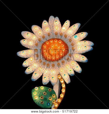 Daisy Flower Flashing Lights