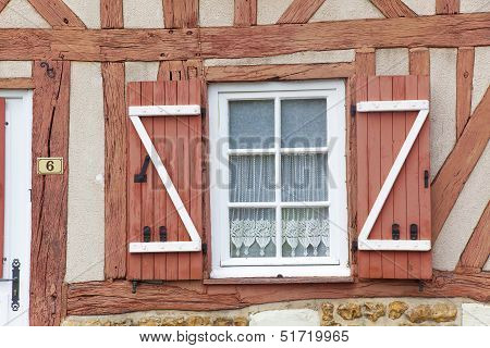 Architecture Of Le Bec-hellouin, Eure, Haute-normandie, France