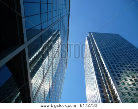 Canary Wharf Office Buildings
