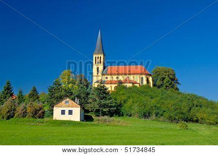 Zagreb Green Zone Idyllic Church