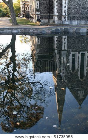 Reflection of Saint Alban's Church