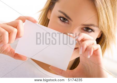 Eyes And Card