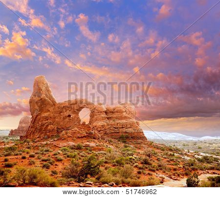 Arches National Park Turret Arch in Moab Utah USA photo mount