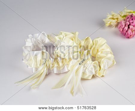 Garter of the bride